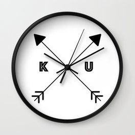Kansas x KU Wall Clock