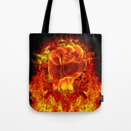 FIRE POWER Tote Bag
