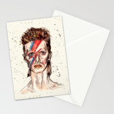 Bowie Inspired David Stationery Cards