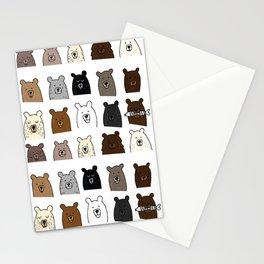 Bear Portraits Stationery Cards