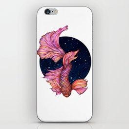 Rainbowed Waters - The Betta Fish iPhone Skin