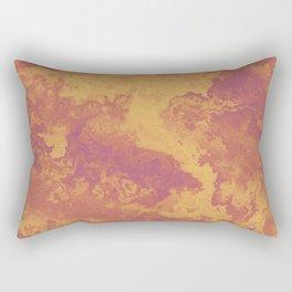 Desert Terrain Rectangular Pillow