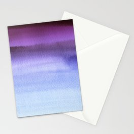 Sky Watercolor Texture Abstract 661 Stationery Cards