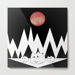 cats 15 Metal Print