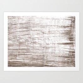Cinereous abstract watercolor Art Print