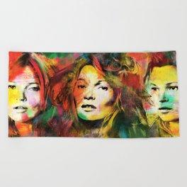 Colors of Kate Beach Towel