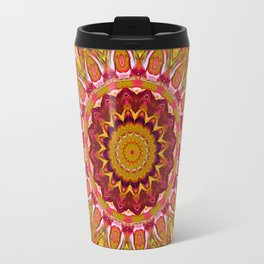 The goldish mandala Travel Mug