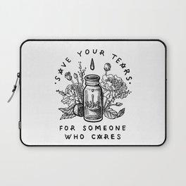 save your tears Laptop Sleeve