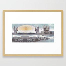 PLANET Nikšić 11 Framed Art Print