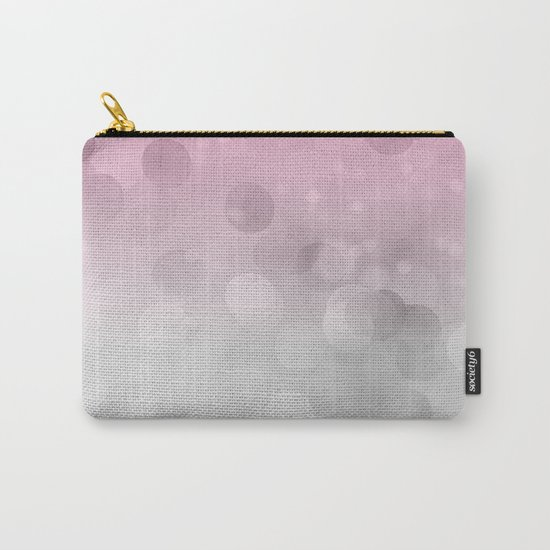 Pink light abstract bokeh design Carry-All Pouch
