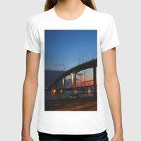 bridge T-shirts featuring Bridge by Alyssa Gioia