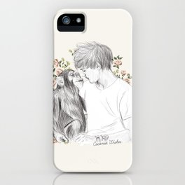 Louis and the chimp iPhone Case