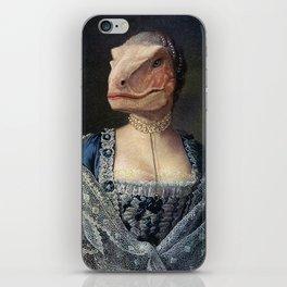 Dame Deinonychus iPhone Skin