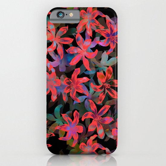 Tropical Serenade - Black iPhone & iPod Case