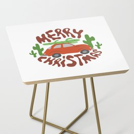Merry Christmas Side Table
