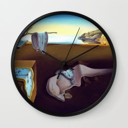Salvador Dali The Persistence of Memory 1931 Artwork, Wall Art, Prints, Posters, Tshirts, Men, Women Wall Clock