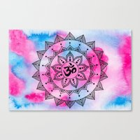 ohm Canvas Prints featuring Ohm by Frida Glans
