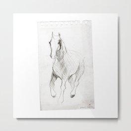 Horse (Notebook) Metal Print