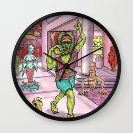 Fuck this planet, let's bail. Wall Clock