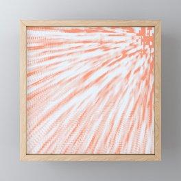 Peaches & Cream Framed Mini Art Print