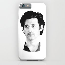 Derek Shepherd iPhone Case