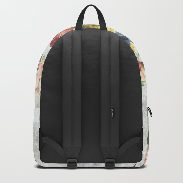 Flourish, spring, burgeon, burst! Backpack