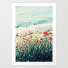 Sea of Poppies Art Print