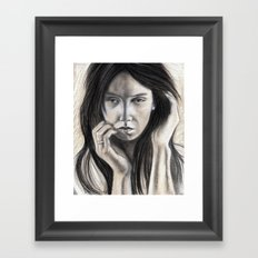Sense of Doubt Framed Art Print