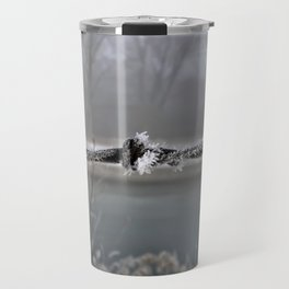 Iced barb wire Travel Mug