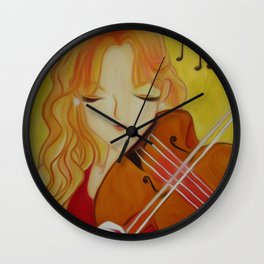 A Song in My Heart Wall Clock