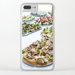 Celebration Savory Clear iPhone Case