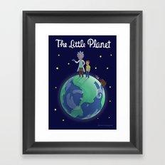 The Little Planet Framed Art Print