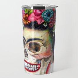 Frida's Skull Travel Mug