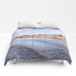 Sunset Cliff Comforters