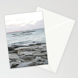 Frozen Maine Ocean Stationery Cards
