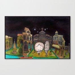 Diorama Canvas Print