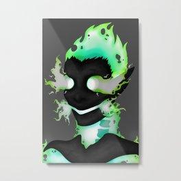 Fire Imp - Original Metal Print