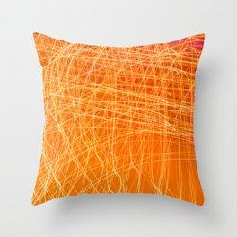 Eutectic Throw Pillow