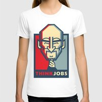 steve jobs T-shirts featuring STEVE JOBS VECTOR CARICATURE by Kaexi
