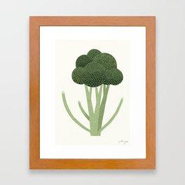Broccoli Framed Art Print