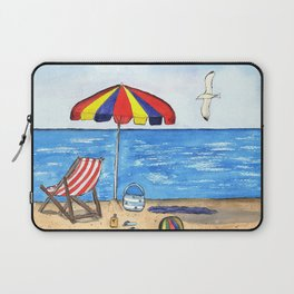 Summer Fun at the Beach Laptop Sleeve