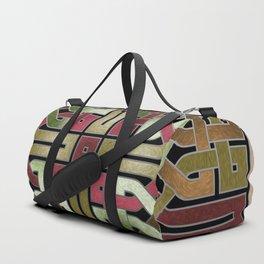 Earthtone Celtic Knot Duffle Bag