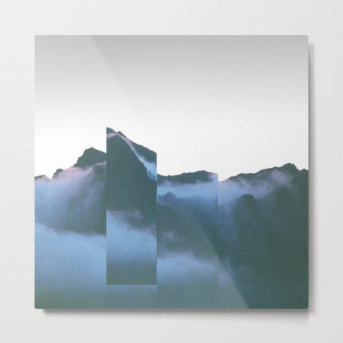 Mountain Mix 17.2 Metal Print