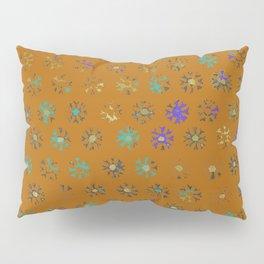 Primitive Sun Print--faded, distressed, tribal Pillow Sham