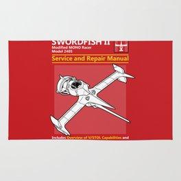 Swordfish Service and Repair Manual Rug