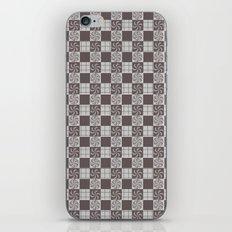 pattern (vintage swirl#1) iPhone & iPod Skin