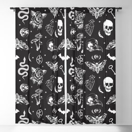 Witchcraft B&W Blackout Curtain