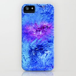 """Ocean Floor"" Painting iPhone Case"