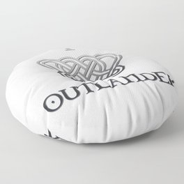 I LOVE OUTLANDER - CELTIC HEART Floor Pillow