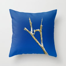 Soaring High in Blue Skies Throw Pillow